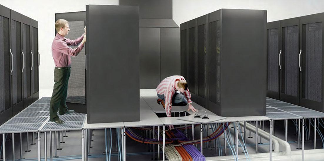 اجرا و راه اندازی اتاق سرور