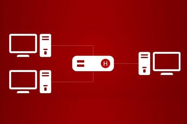 کاربرد هاب در ساختار شبکه