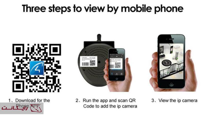 نصب دوربین مداربسته بدون DVR / NVR با استفاده از روش UID