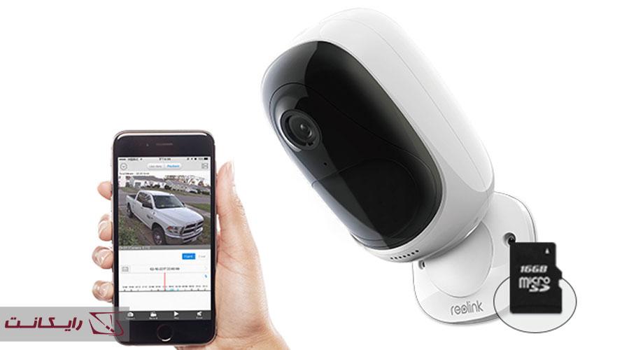 نصب دوربین مداربسته بدون DVR / NVR با استفاده از دوربین دارای کارت حافظه