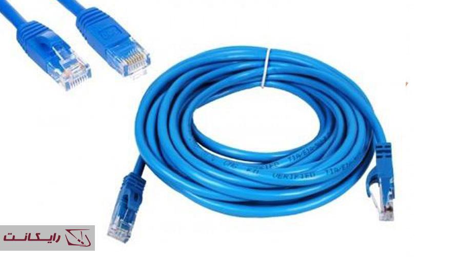 کابل شبکه مناسب دوربین IP